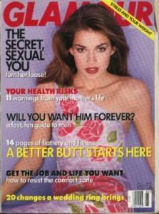 Glamour Magazine NUDE BUTTS  NIKI TAYLOR 1997 (Image1)