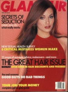 Glamour Magazine Turlington Hunter Banks 1997 (Image1)