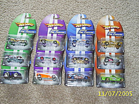 Hot Wheels Easter Egg Clusives Complete Set