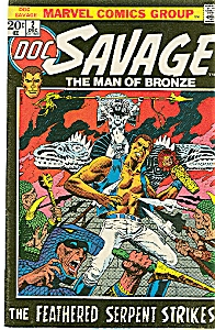 DOC SAVAGE 1972 #2 Marvel The Man of Bronze (Image1)
