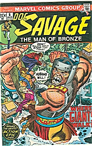 Doc Savage # 6 - The Man Of Bronze 1973
