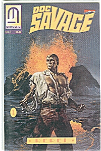 Doc Savage - Millennium  No.1   Repel  1991 (Image1)