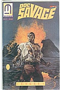 Doc Savage - Millennium  No.1   Repel  1991 (Image1)
