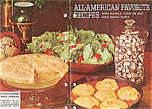 1960 Betty Crocker ALL AMERICAN Mazola CookBook (Image1)