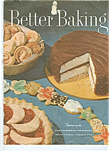 1950's Procter - Gamble BETTER BAKING School Cookbook (Image1)