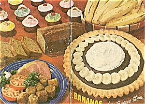 1941 BANANA Cook Book Vintage COOL Nana Recipes (Image1)