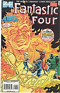 Fantastic Four - Thor Hammers Fan 4 =july 1995