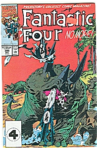 Fantastic Four - No More 1990  # 345 Oct. (Image1)