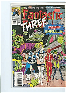 Fantastic Three - Marvel comics  #382   1993 (Image1)