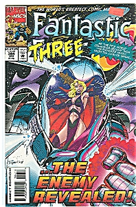 ;Fantastic Three Jan. 95   #384 -Marvel comics (Image1)