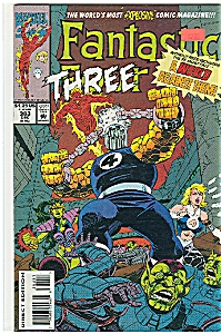 Fantastic Four  =#386   March1994  -Marvel Comics (Image1)