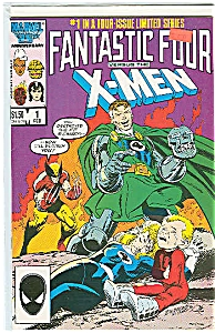 Fantastic Four Versus The X-men #1