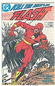 FLASH - DC comics.  Sept. 1987  # 4 (Image1)