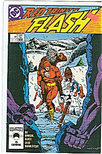 Flash - Dc Comics. # 7 Dec. 87