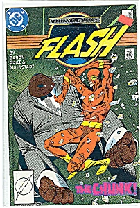 FLASH - DC comics.  # 9 -Feb. 1988 (Image1)