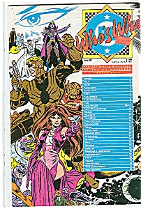 Who's who - DC comics   Jan. 1987 Volume 23 (Image1)