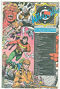 Who's Who - Volume 24 Dc Comics 1987