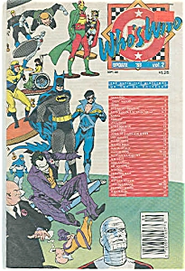 Who's Who -  DC comics - Sept. 88  Vol. 2 (Image1)