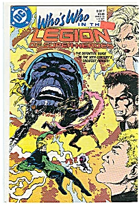 Who's who in the Legion June 88     DC comics (Image1)