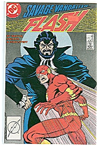 FLASH = Savage vandalism  # 13 - June 1988 (Image1)