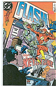 Flash - DC comics  # 32 Nov. 1989 (Image1)