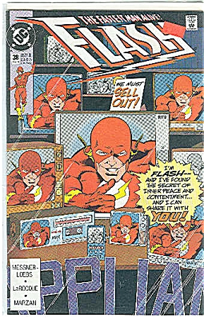 Flash # 38  DC comics May 1990 (Image1)