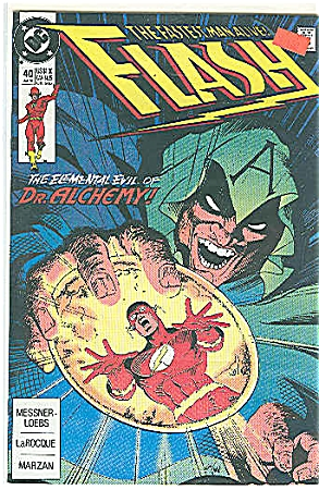 Flash - DC comics  # 40  July 1990 (Image1)