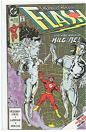 Flash  DC comics   # 43  Oct. 1990 (Image1)