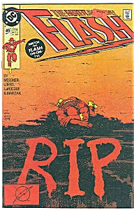 FLASH - DC comics  # 49  April 1991 (Image1)