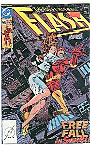 FLASH  - DC comics   # 54  Sept 91 (Image1)