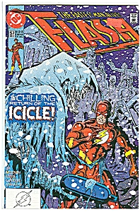 FLASH  - DC Comics  # 57   Dec. 1991 (Image1)