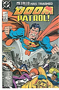 THE DOOM PATROL -DC  comics #10 July 1988 (Image1)