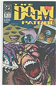 The Doom Patrol - DC comics  # 25 August 1989 (Image1)