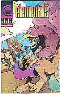 ELEMENTALS - Comico  # 18 June 1991 (Image1)