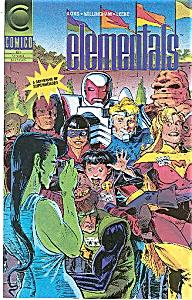 ELEMENTALS - Comico - # 20  Oct. 91 (Image1)