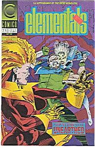 ELEMENTALS - Comico - May 1992  # 23 (Image1)