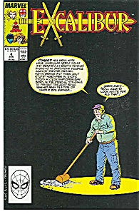 EXCALIBUR - Marvel comics - # 4 Jan.89 (Image1)