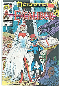 EXCALIBUR - Marvel comics.  # 7  April 1989 (Image1)