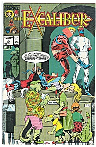 EXCALIBUR -Marvel comics - # 9 June 1989 (Image1)