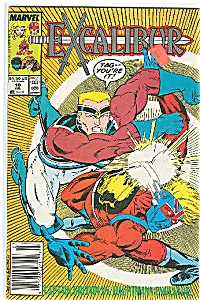 EXCALIBUR -Marvel comics - # 10  July 1989 (Image1)