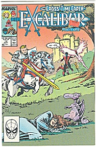 Excalibur - Marvel comics - # 12  Sept. 1989 (Image1)