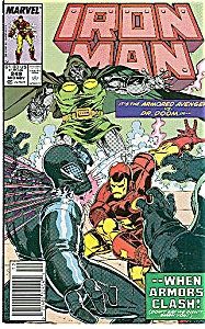IRON MAN - Marvel comics - # 249 Nov. 1990 (Image1)