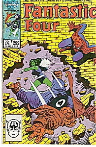 Fantastic Four - Marvel comics #299  Feb. 1987 (Image1)