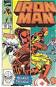 IRON MAN  Marvel comics # 255 April 90 (Image1)