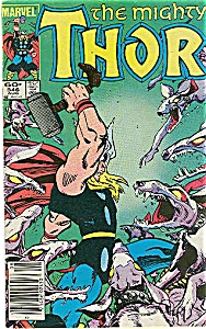 The Mighty Thor - Marvel comics -Aug.84 # 346 (Image1)