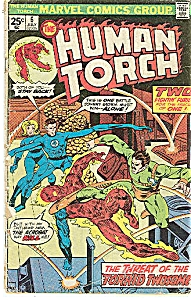 Human Torch - Marvel comics - July 1975 # 6 (Image1)
