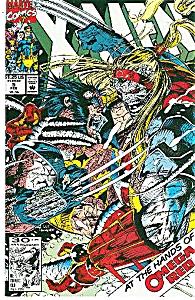 X-Men - Marvel comics - # 5  Feb. 92 (Image1)