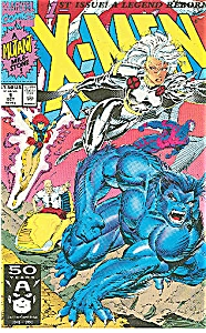 X-MEN #1 1A MARVEL COMICS STORM & BEAST COVER 1991 MINT (Image1)