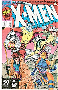 X-MEN #1 1B WOLVERINE Colossus and Gambit  COVER (Image1)