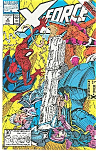 X-force - Marvel comics   # 4 Nov.  91 (Image1)